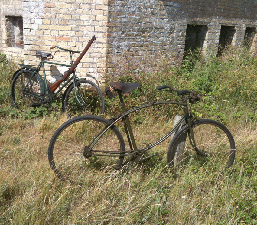 1942-1945 WW2 BSA Airborne Bicycle, 2nd Pattern | The BSA & Military ...