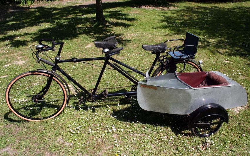 Tandem With A Sidecar Singletrack Magazine