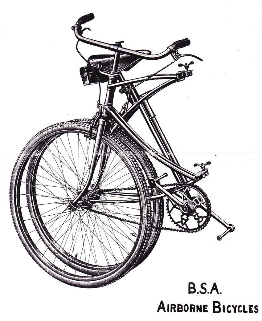 Les vélos militaires suisses Bsa_airborne_museum_1