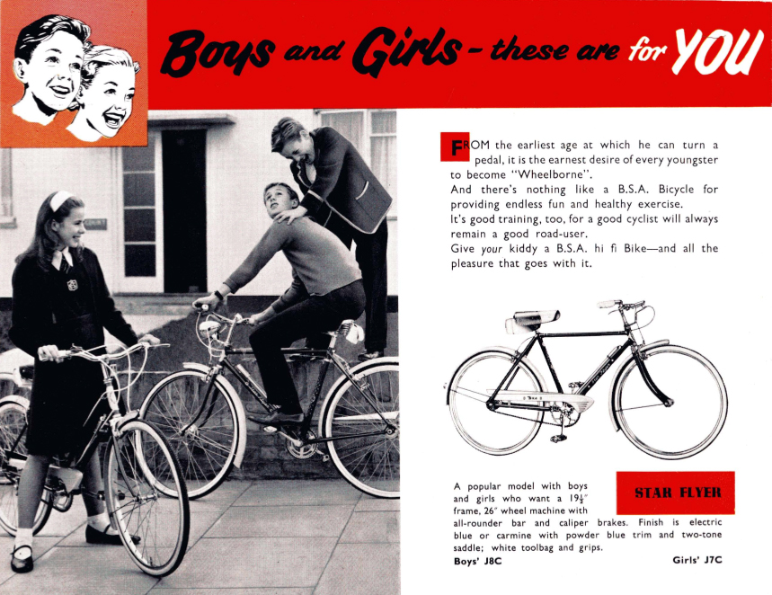 1950s Bsa Regency Model R6 High Fidelity Cycling The Bsa
