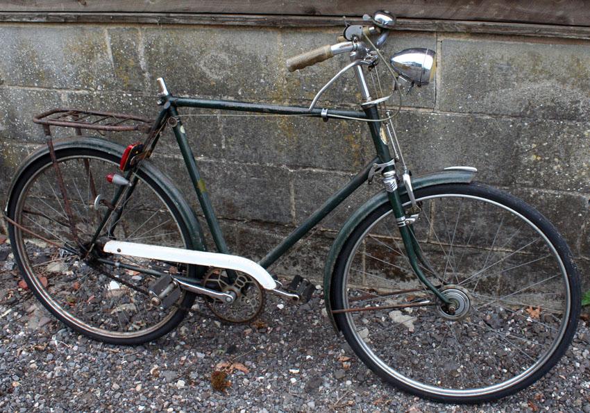 1950s Bsa Regency Model R6 High Fidelity Cycling The